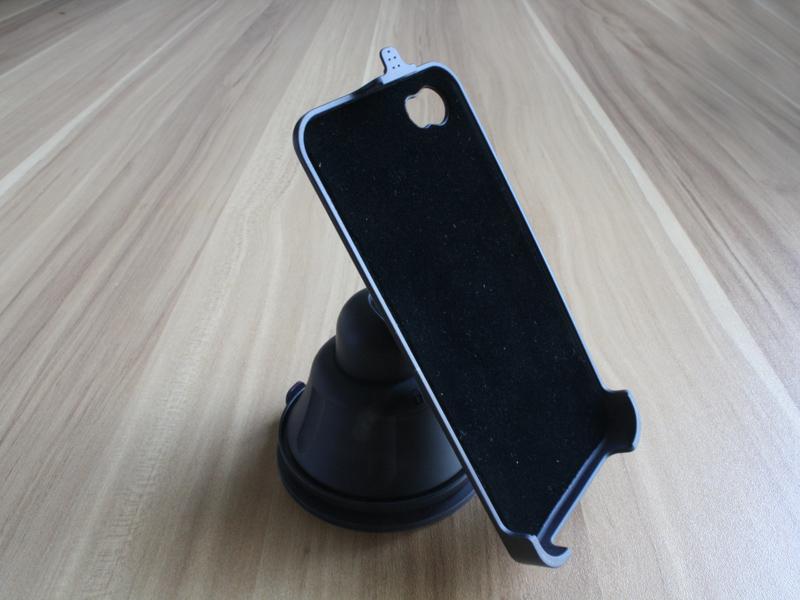 かー用■吸盤式■iPhone5携帯スタンド■保護ケース■内側クッション材搭載