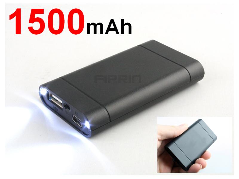 USBミニモバイル電源■LEDライト搭載■iphone4 iphone4S対応